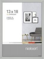 Nielsen Bilderrahmen Pixel silber 13x18cm