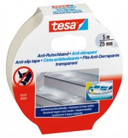 Tesa Anti Rutschband 5 m x 25 mm transparent