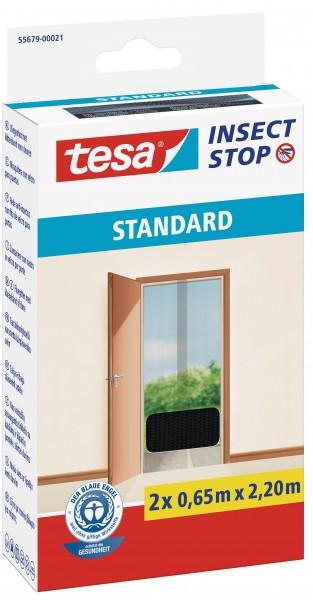 tesa® Fliegenschutz für Türen 2x0,65x2,2m anthrazit