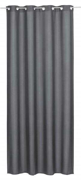 Elbersdrucke Ösenschal Lino 140x255cm anthrazit