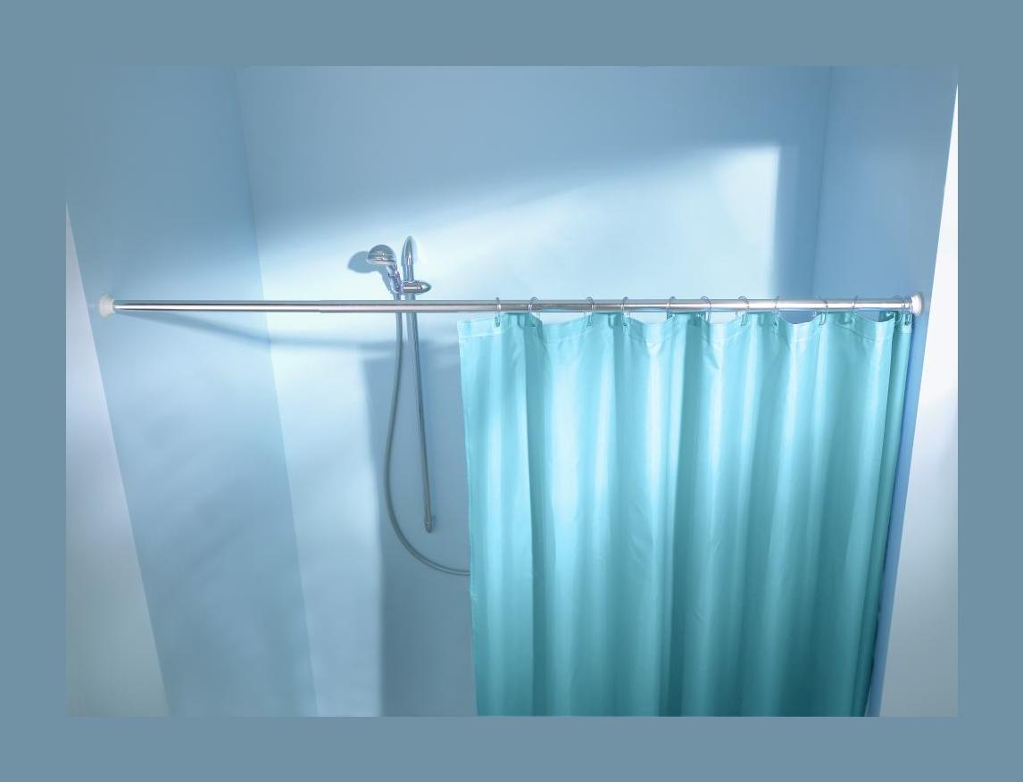Federstange f r duschvorhang 125 220 cm 21 mm weiss for Hagebaumarkt pool prospekt