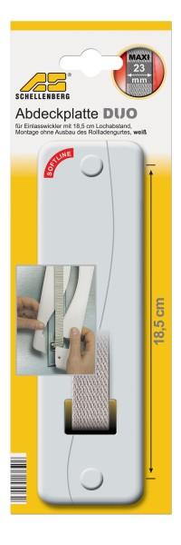 Abdeckplatte Softline 18,5 cm weiss